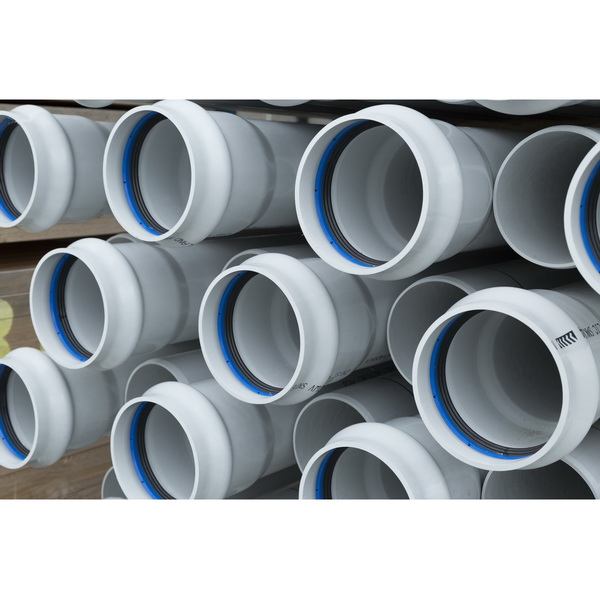 Novadrain 100Sn6 DWV Pipe 100mm X 6 M Socketed One End UPVC