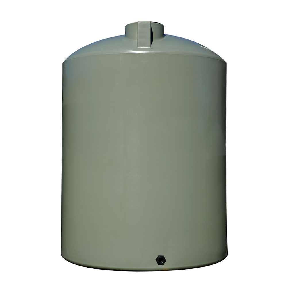 Classic Water Tank 10000L Polyethylene Mist Green