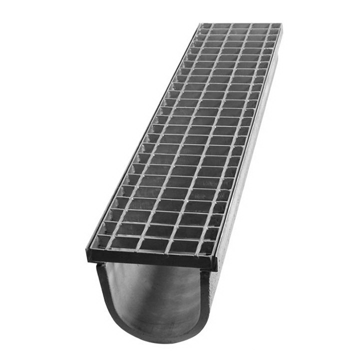 1000x110x160mm RAS Channel Drainage F Grate