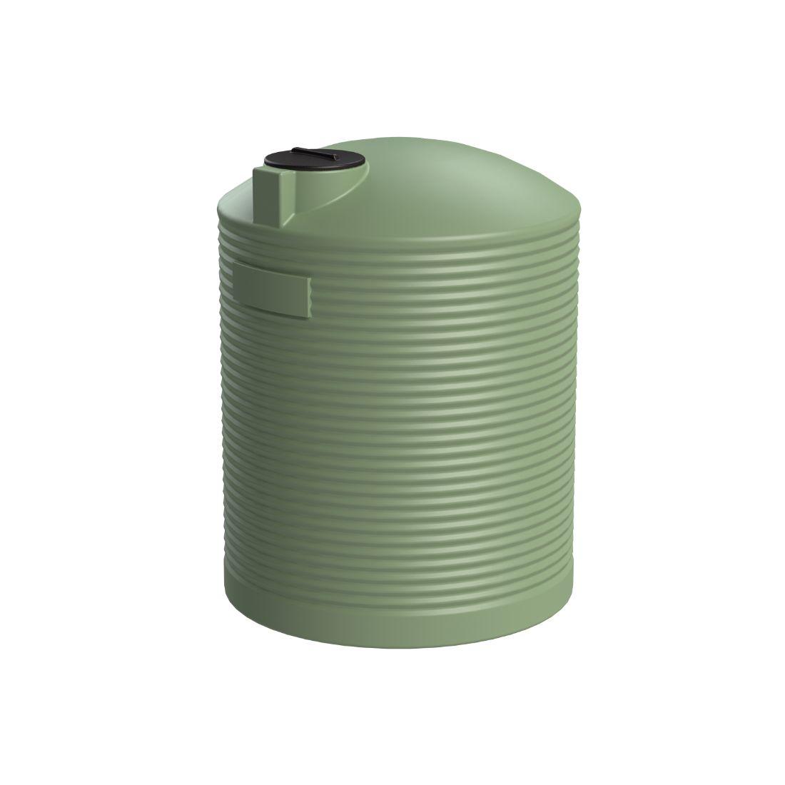 10000L Water Tank Mist Green