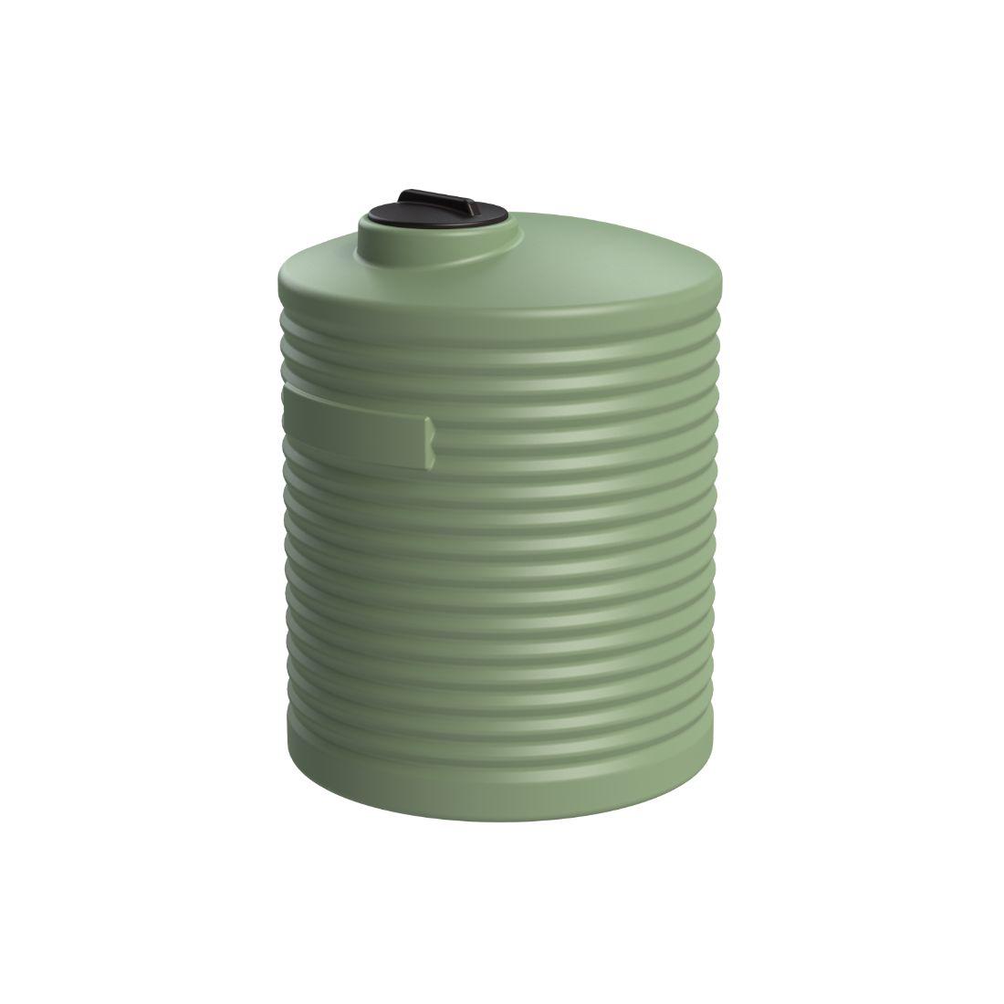 2000L Water Tank Mist Green
