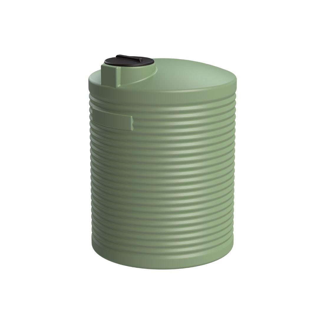 4000L Water Tank Mist Green