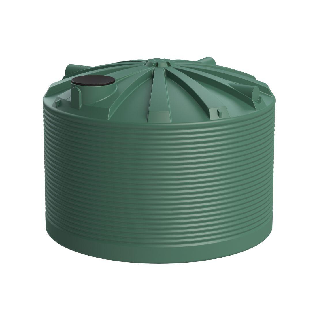 25000L Water Tank Heritage Green