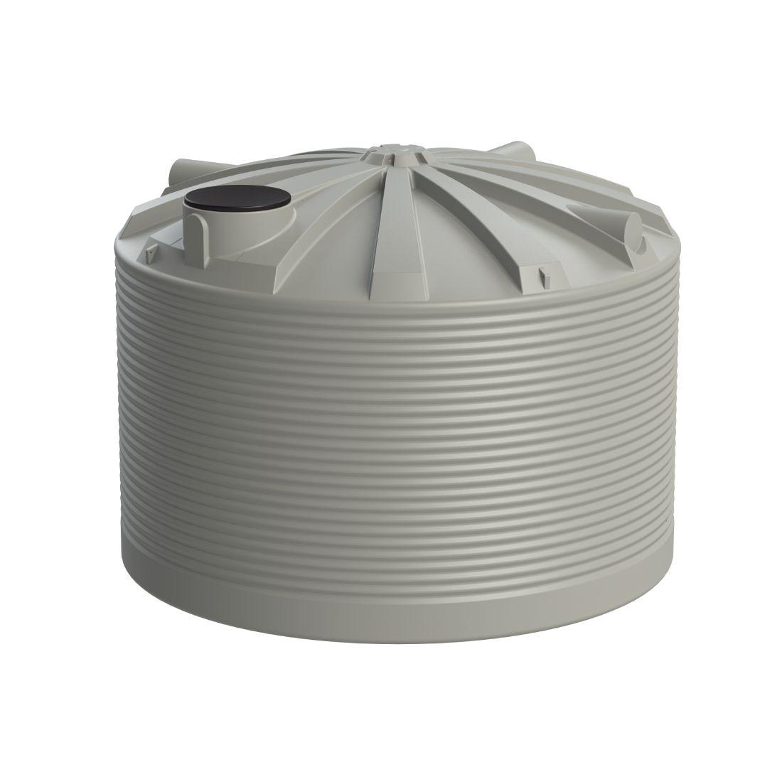 25000L Water Tank Light Grey
