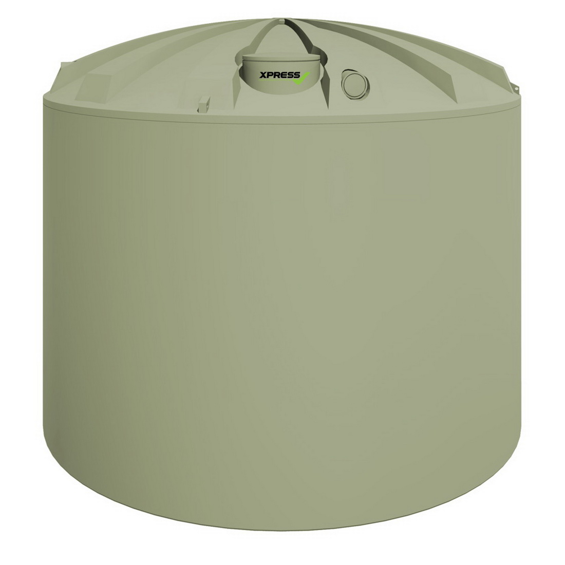 Promax  BT Water Tank 30000L Polyethylene Moss Green XPBT30000 MO/GRN