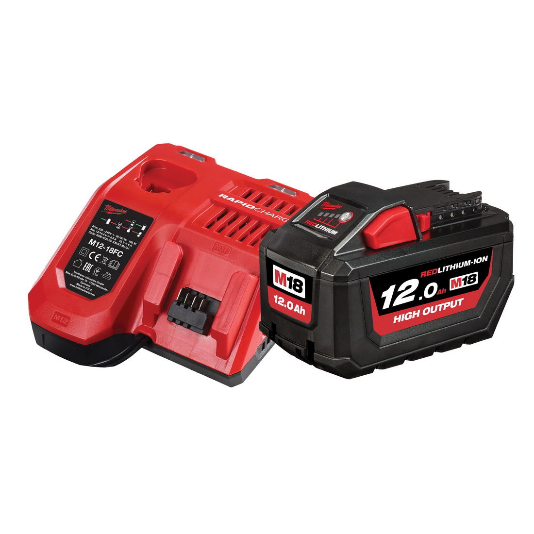 M18 REDLITHIUM-ION High Output Battery Starter Pack 12Ah