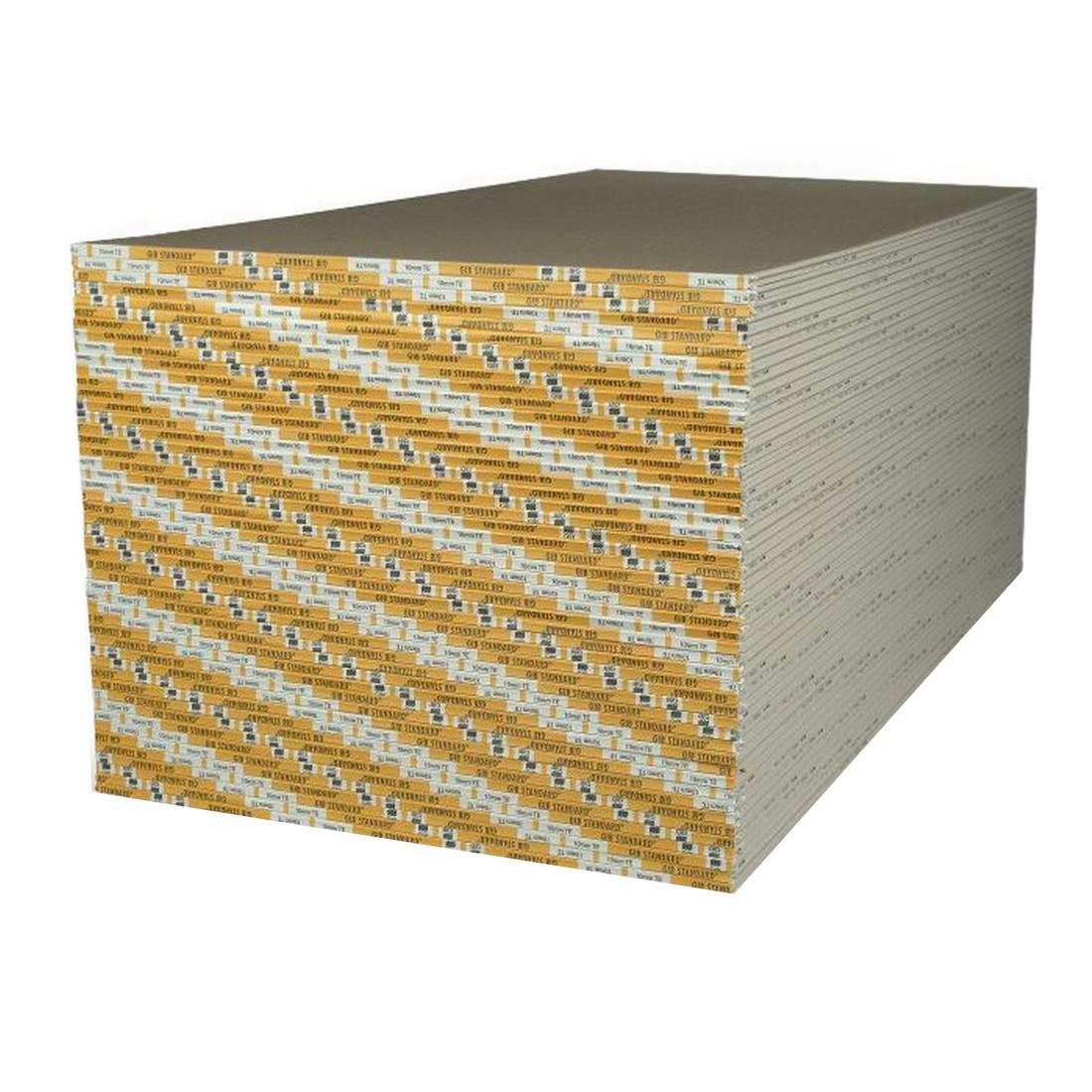 Standard Wallboard 2400 x 1200 x 10mm Taper Edge/Square Edge