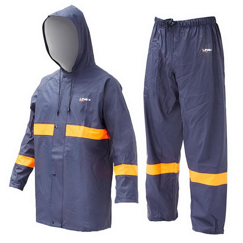 Station 2 Piece Jacket & Overtrouser Set M Navy