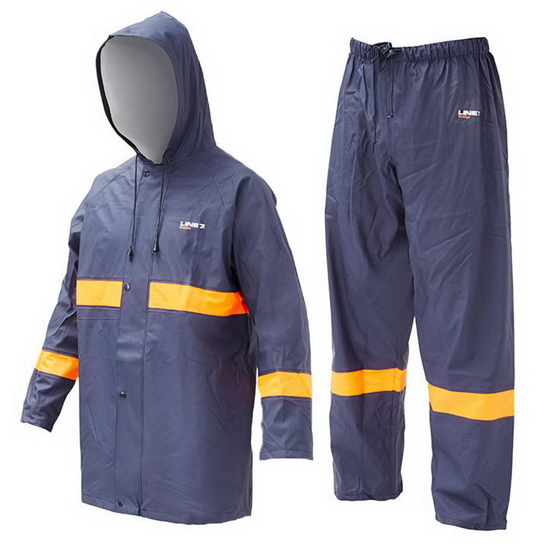 Station 2 Piece Jacket & Overtrouser Set XS Navy