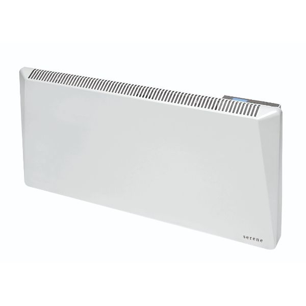 Sirio 1kW Wall Mounted Programmable Electric Panel Heater