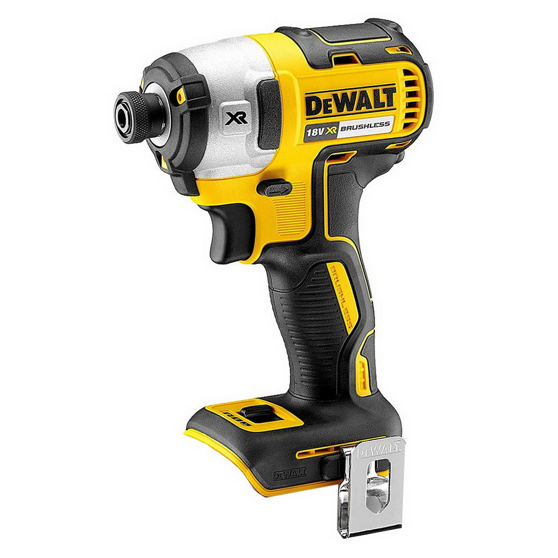18V 1/4in Drive XR Lithium-Ion Cordless Brushless IMPAct Driver Skin