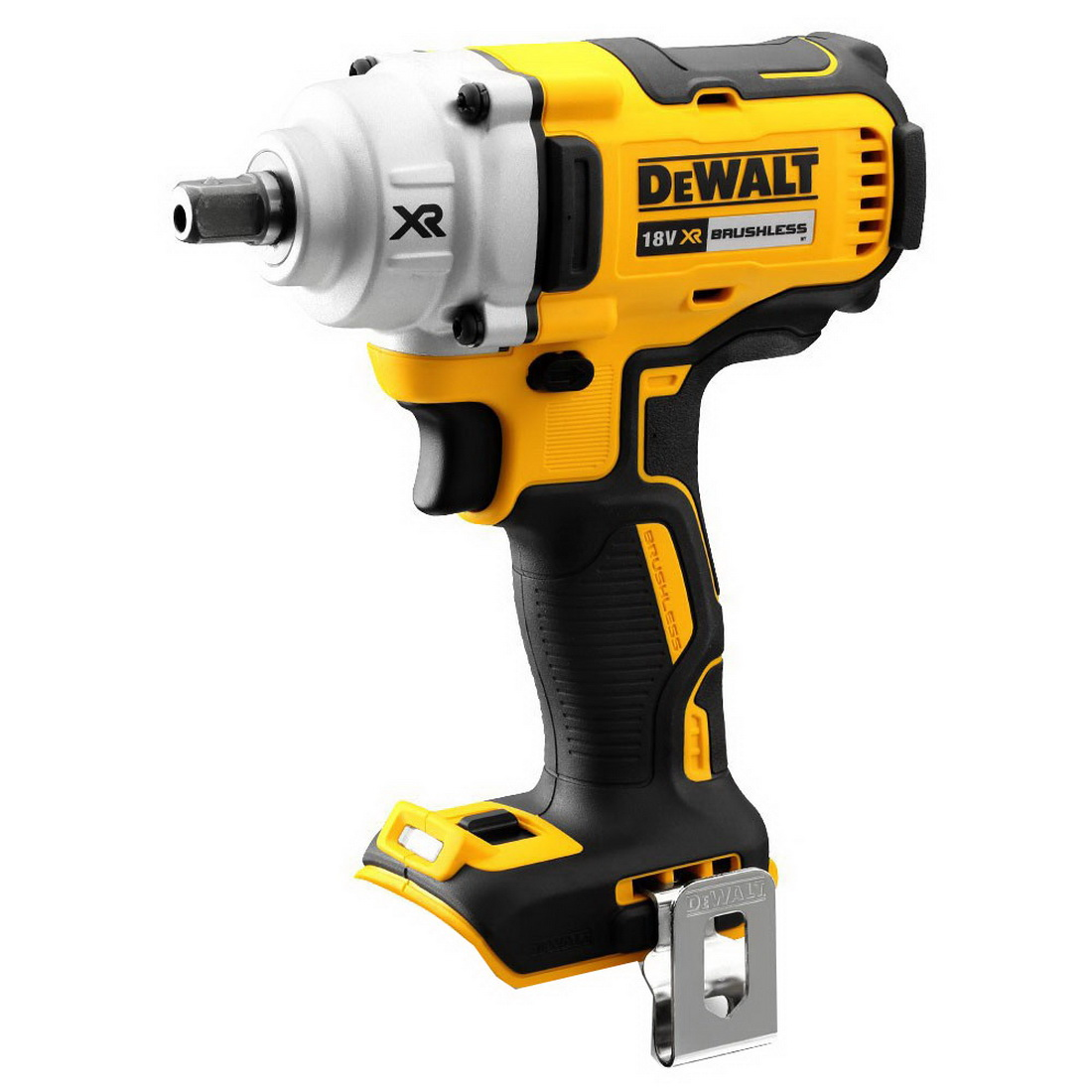 18V 1/2 inch XR Lithium-Ion Cordless Brushless Mid Torque Impact Wrench Skin