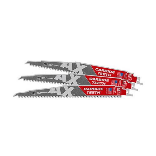 SAWZALL Carbide Teeth Blade 230mm 3 Pack