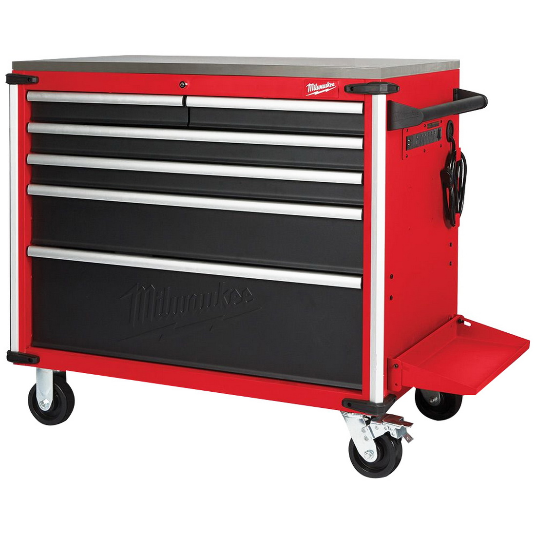 Mobile Work Bench Steel Top 40 inch
