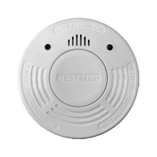 Photoelectric Smoke Alarm with Hush & 10yr Battery 2 Pack