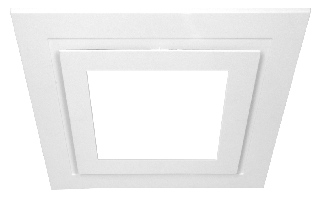 Contour System 200 Square LED Fascia Black