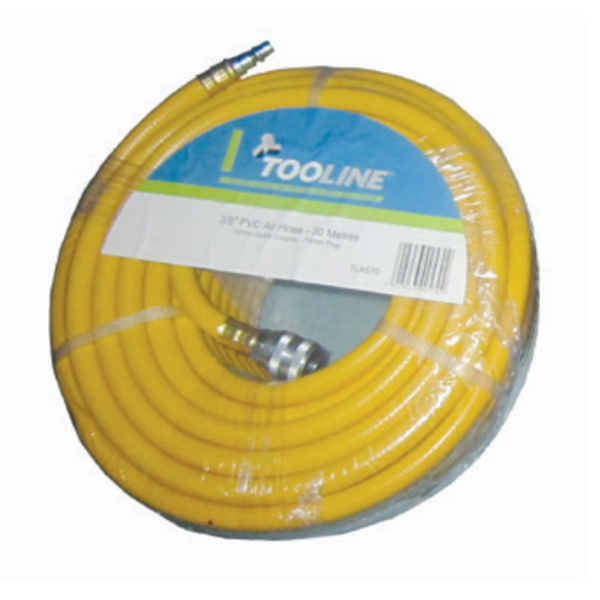 20mx16mm PVC Air Hose with Fittings