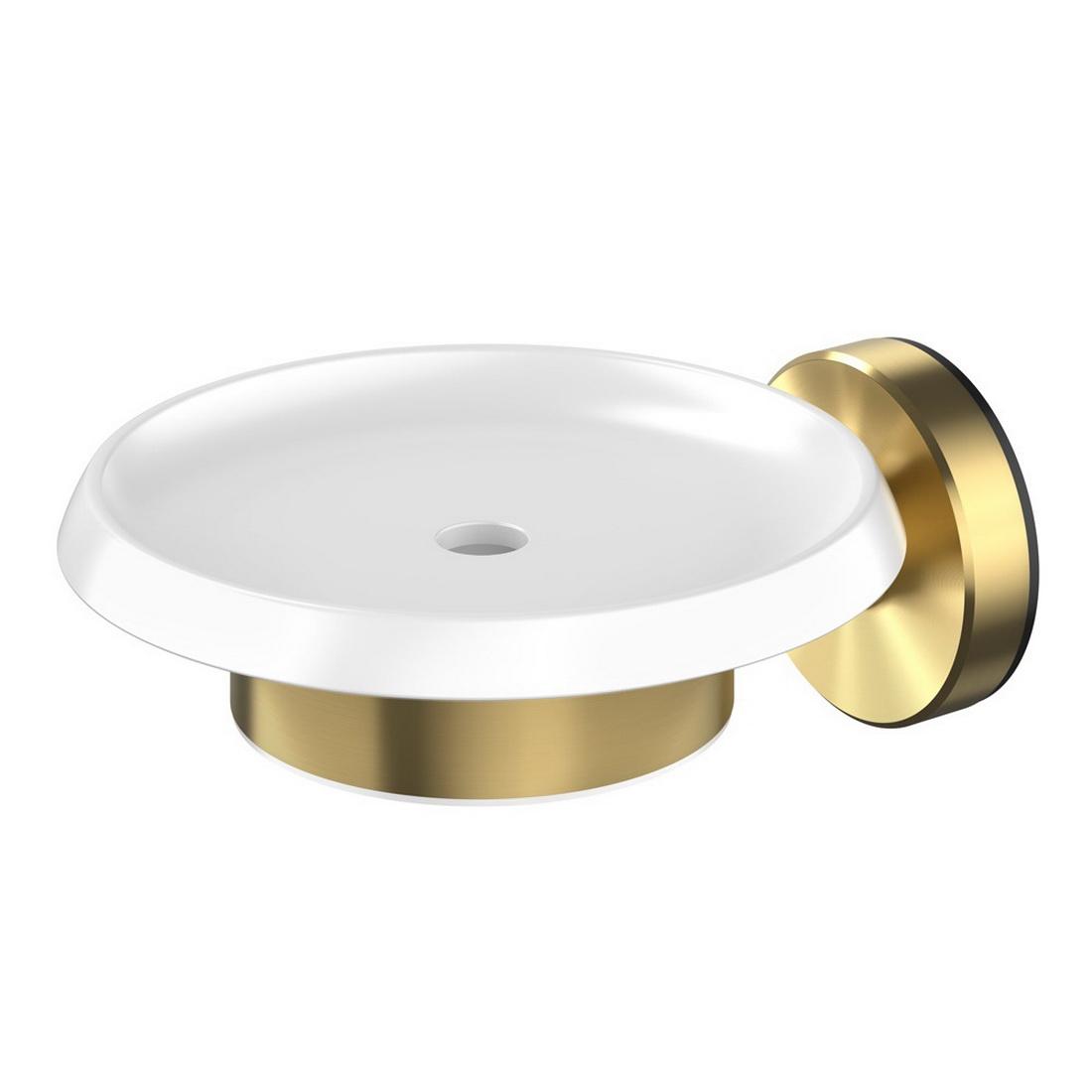 Turoa Soap Dish Brushed Gold