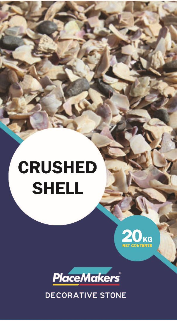 CRUSHED SHELL LARGE 7-13MM 20 KILOGRAM