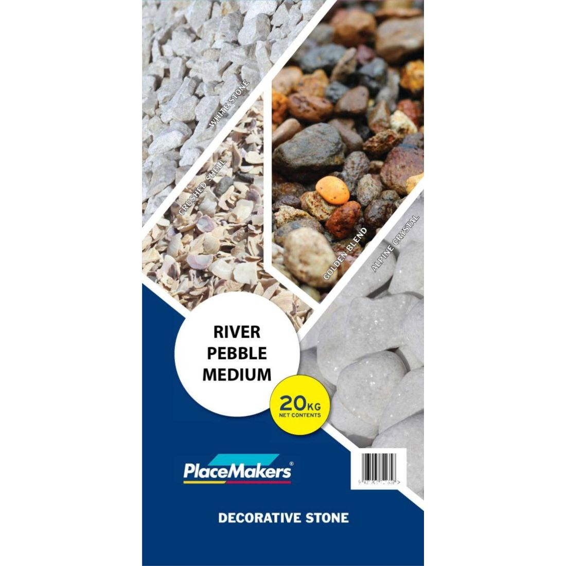 River Pebble Medium 20kg