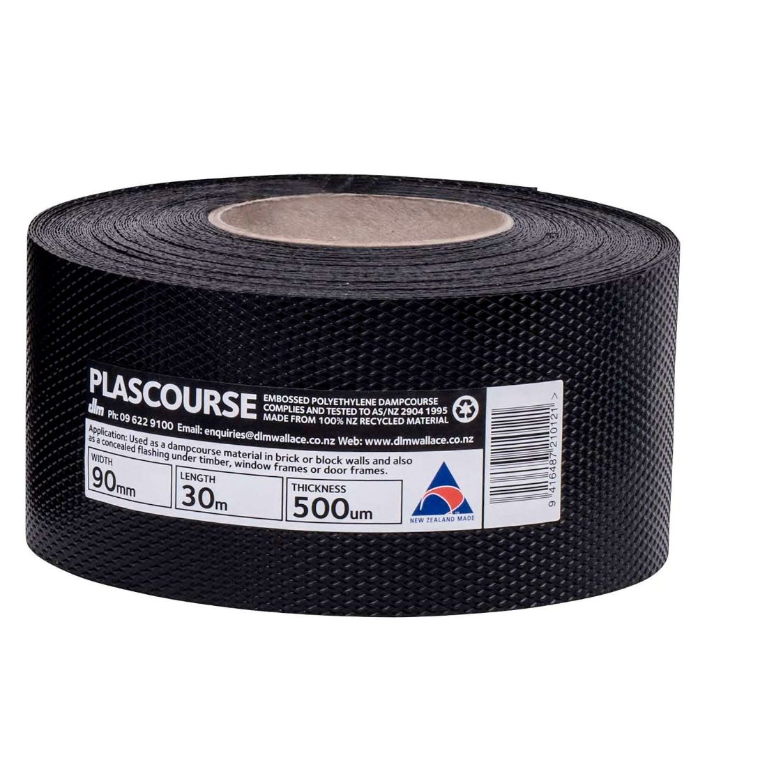 Plascourse Damp Proof Course 90mm x 30m