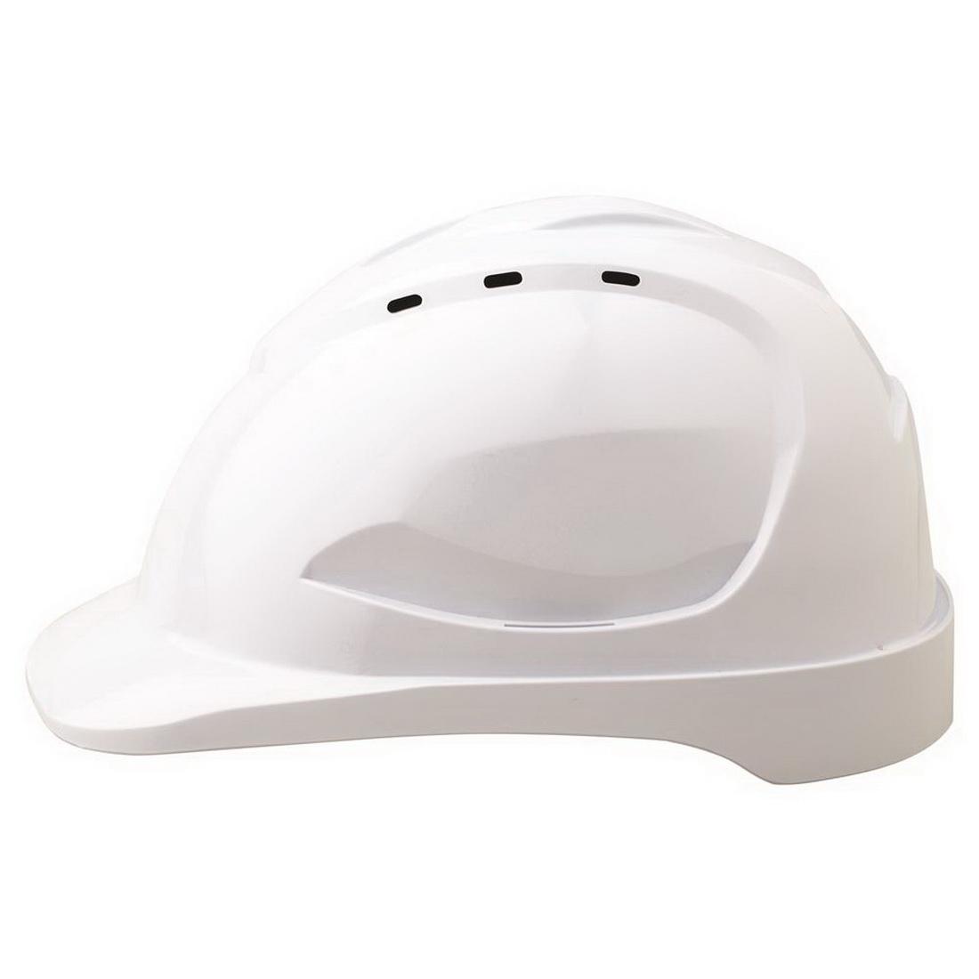 V9 Hard Hat Vented Pushlock Harness Fluro Yellow