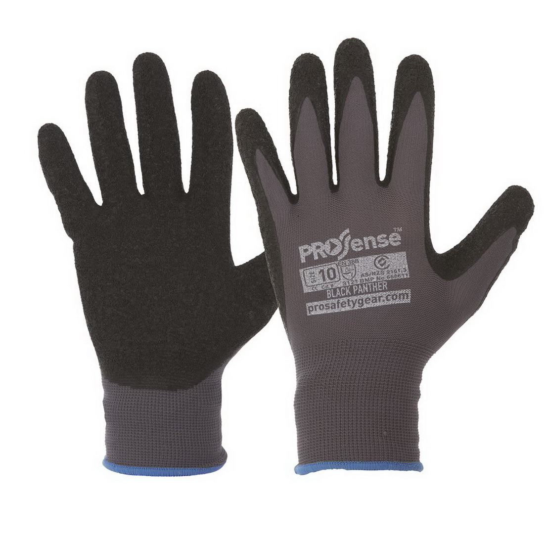 Prosense Black Panther Synthetic Dipped Gloves