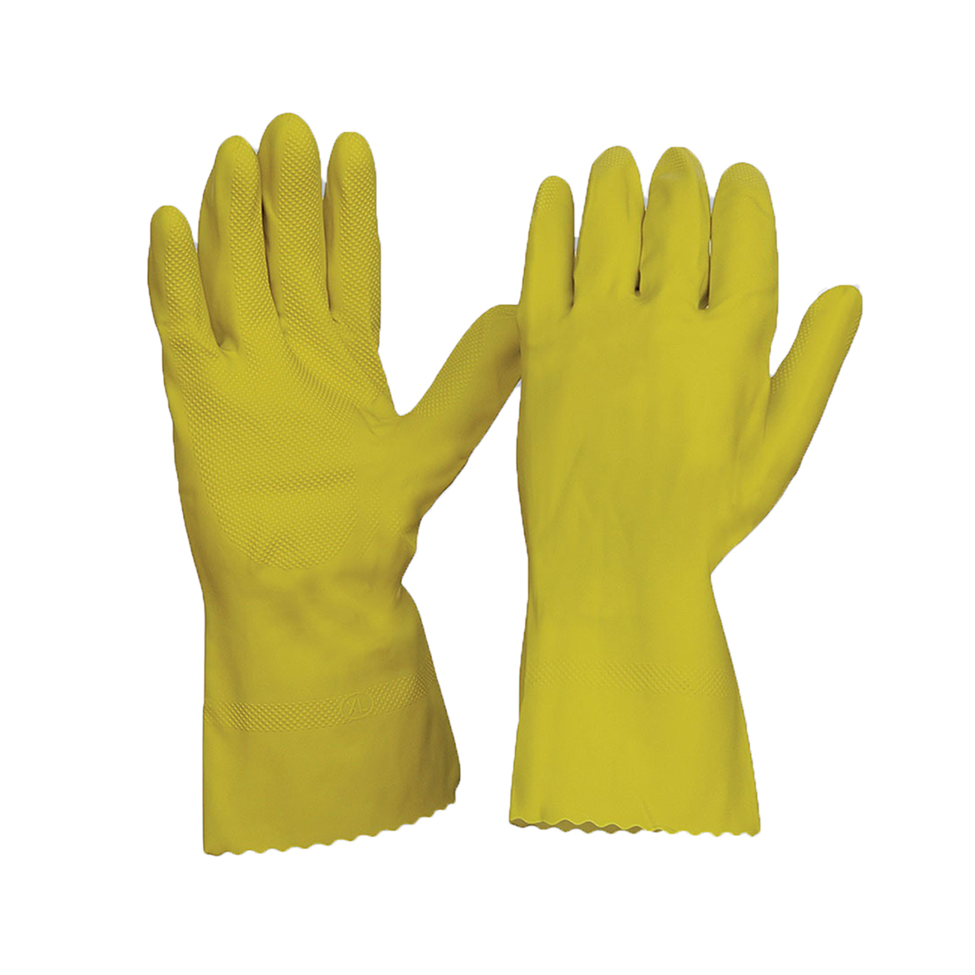 Silverlined Chemical Resistant Gloves Yellow