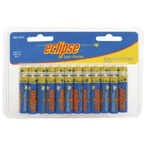 AAA Alkaline Batteries 24 pack