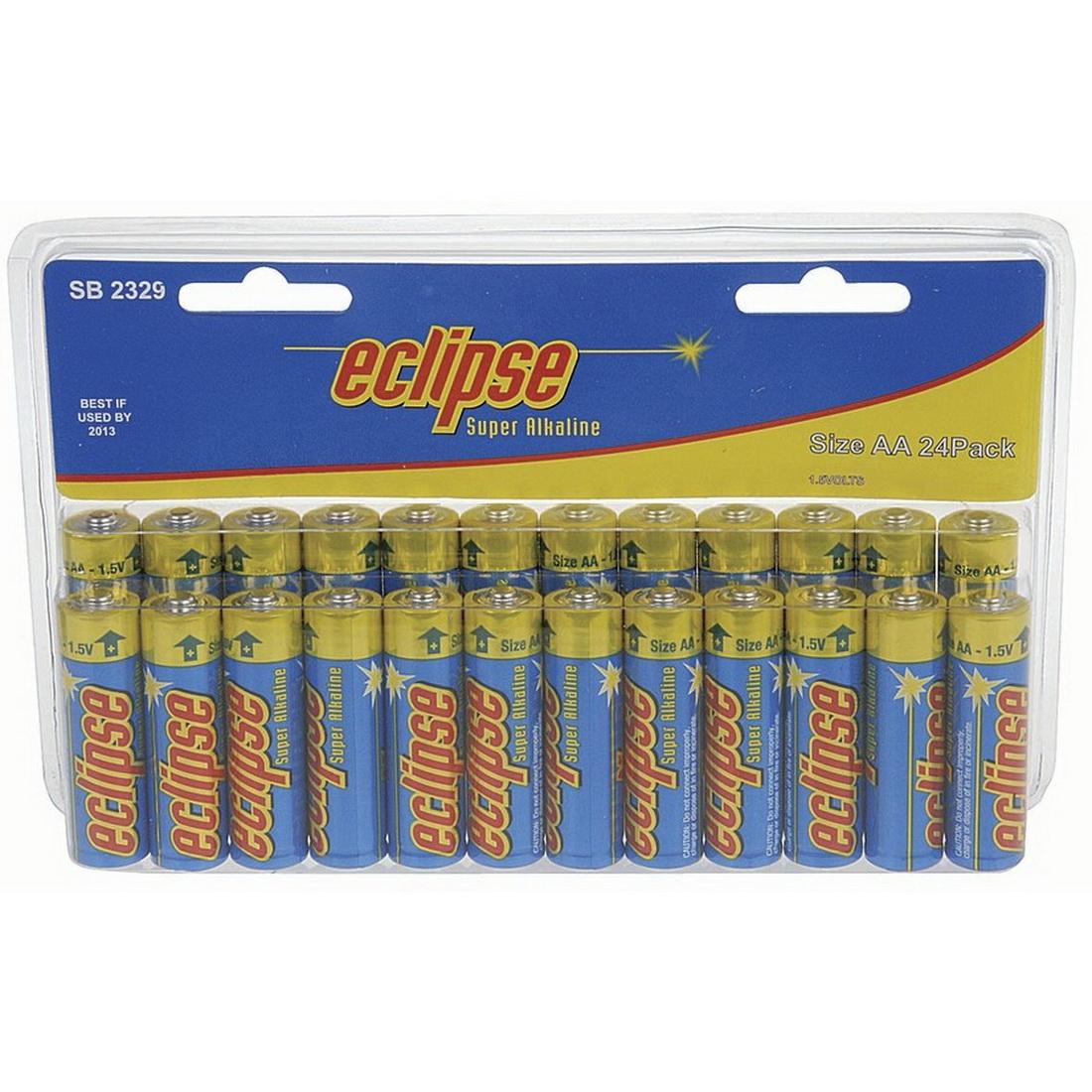 AA Alkaline Batteries 24 pack