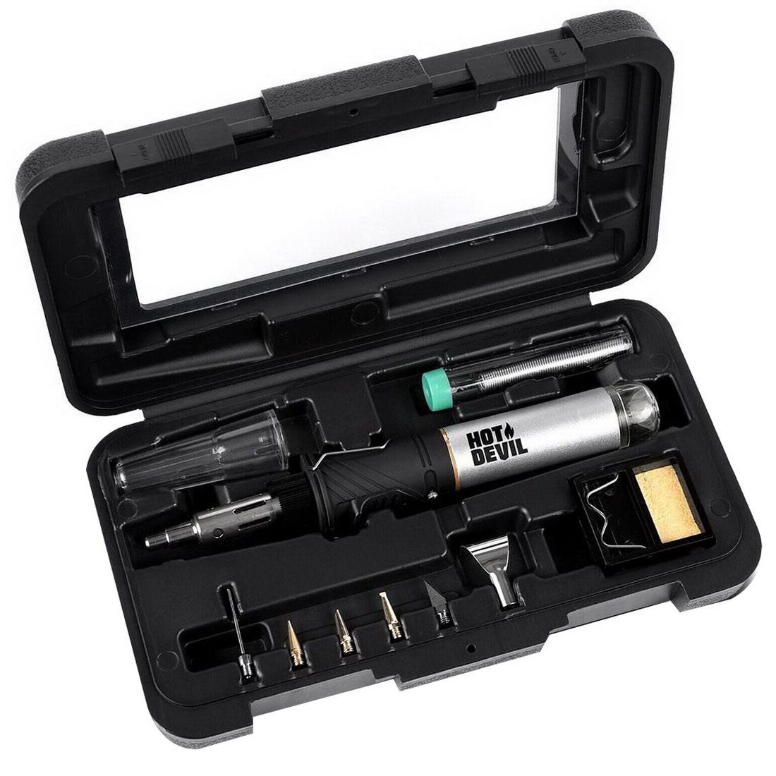 10-in-1 Professional Torch & Soldering Iron Set