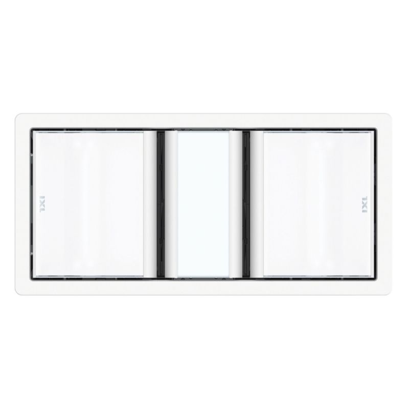 Luminate Dual 3 in 1 Bathroom Heater White