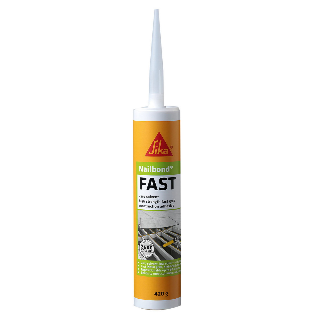 Nailbond Fast 420g Multi-purpose Construction Adhesive Beige