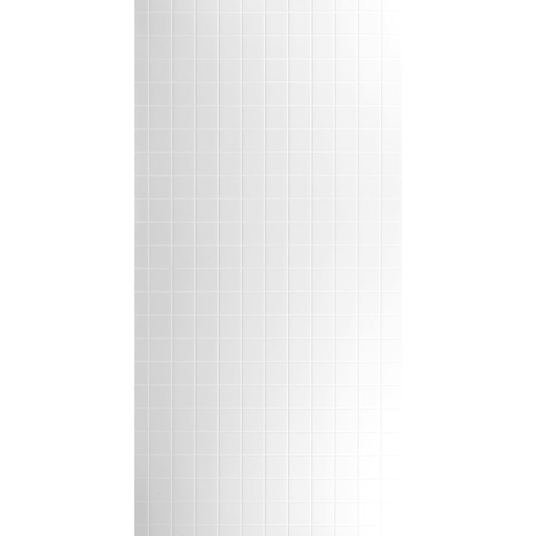 Aqua Wall Lining Panel Polar White Square Tile 2400 x 1200 x 4.5mm