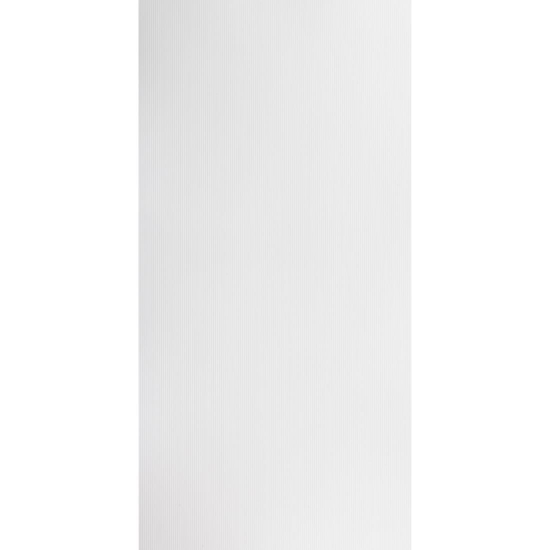 Aqua Wall Lining Panel Polar White Ripple 2400 x 1200 x 4.5mm