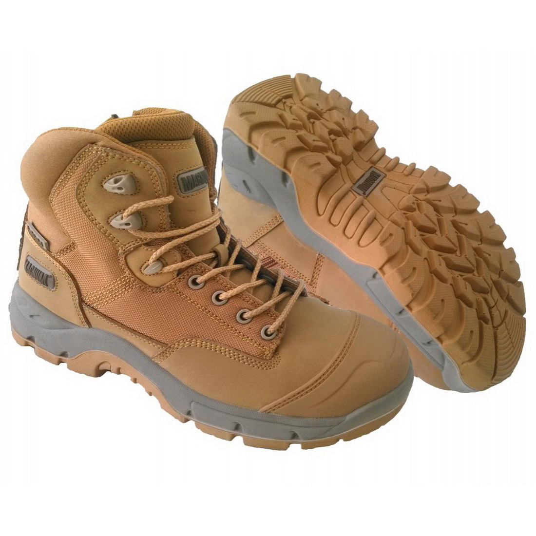 Sitemaster Lite Zip Safety Boots with Composite Toe Wheat