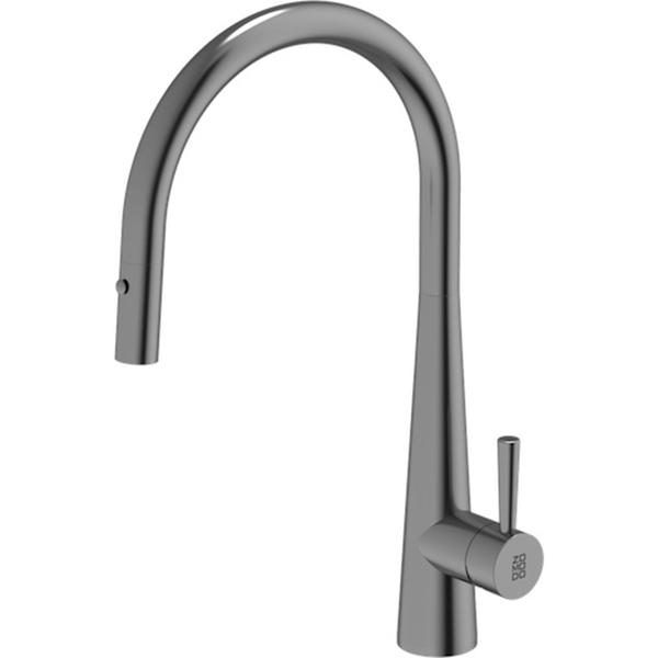 Cignus Range 420x225mm Stainless Steel Kitchen Tap Sonic Grey PearlArc Finish