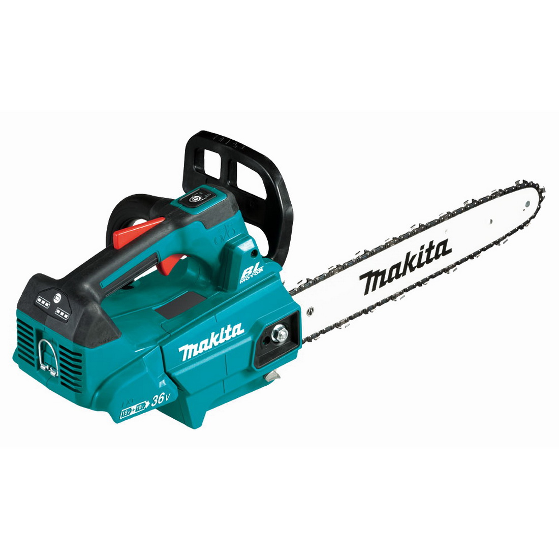 2 x 18V 5Ah 350mm Lithium-Ion Brushless Top Handle Chainsaw Kit
