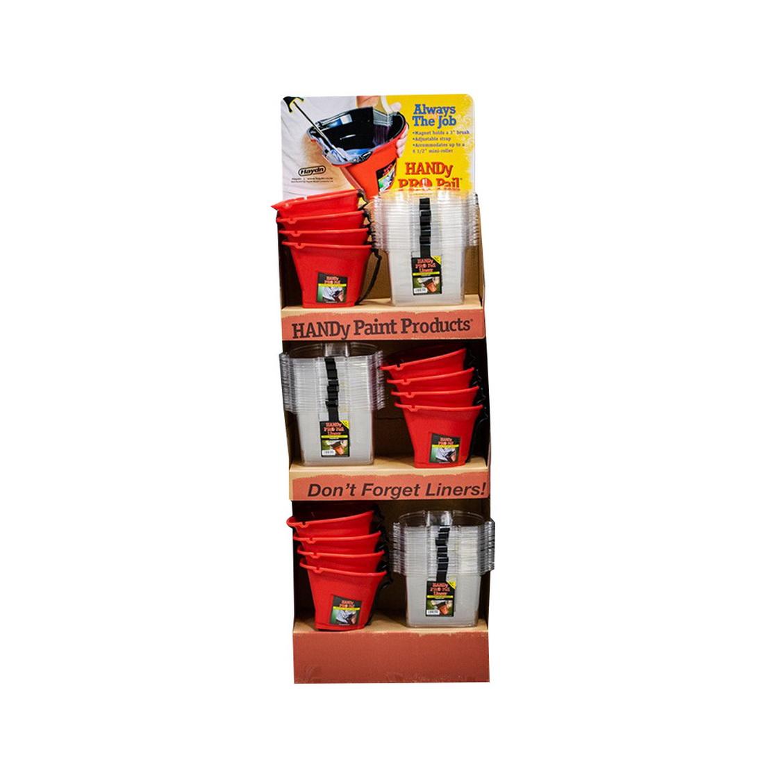 Handy Pro Pail Bucket & Liner Display Unit