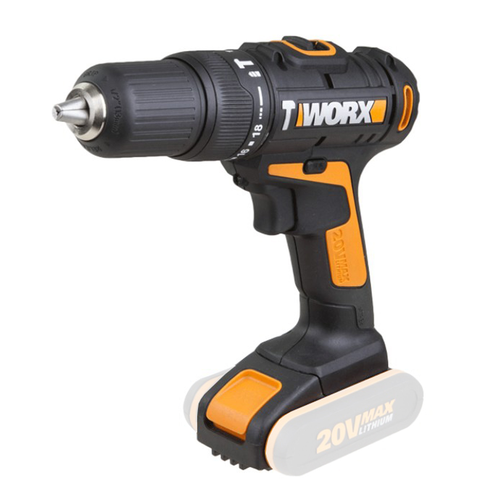 20V Lithium-Ion Cordless Hammer Drill WX371.9