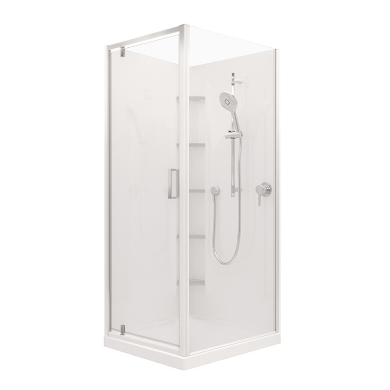 Valencia Elite Shower 750 x 900mm Right Hand White Centre Flat