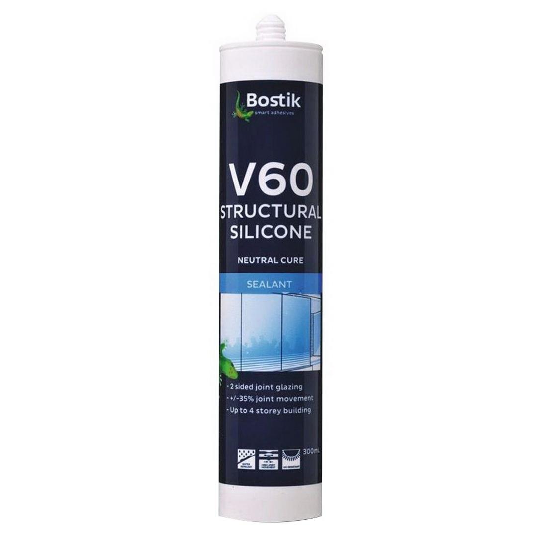 300ml V60 Architectural Grade Silicone Sealant Translucent