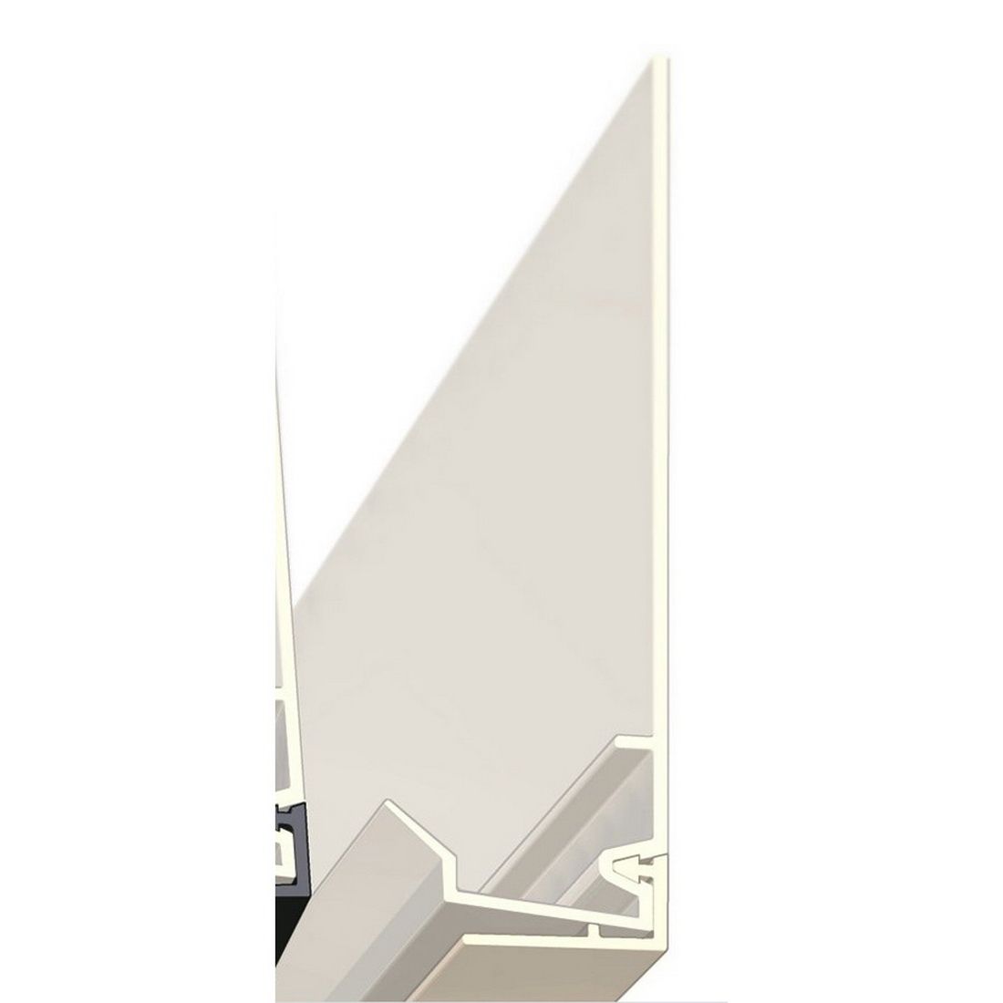 Architectural Range 45mm x 3m Cavity Closer Ivory