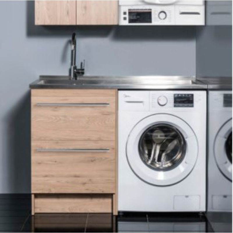 Laundry Top Cabinet with Tub 600mm