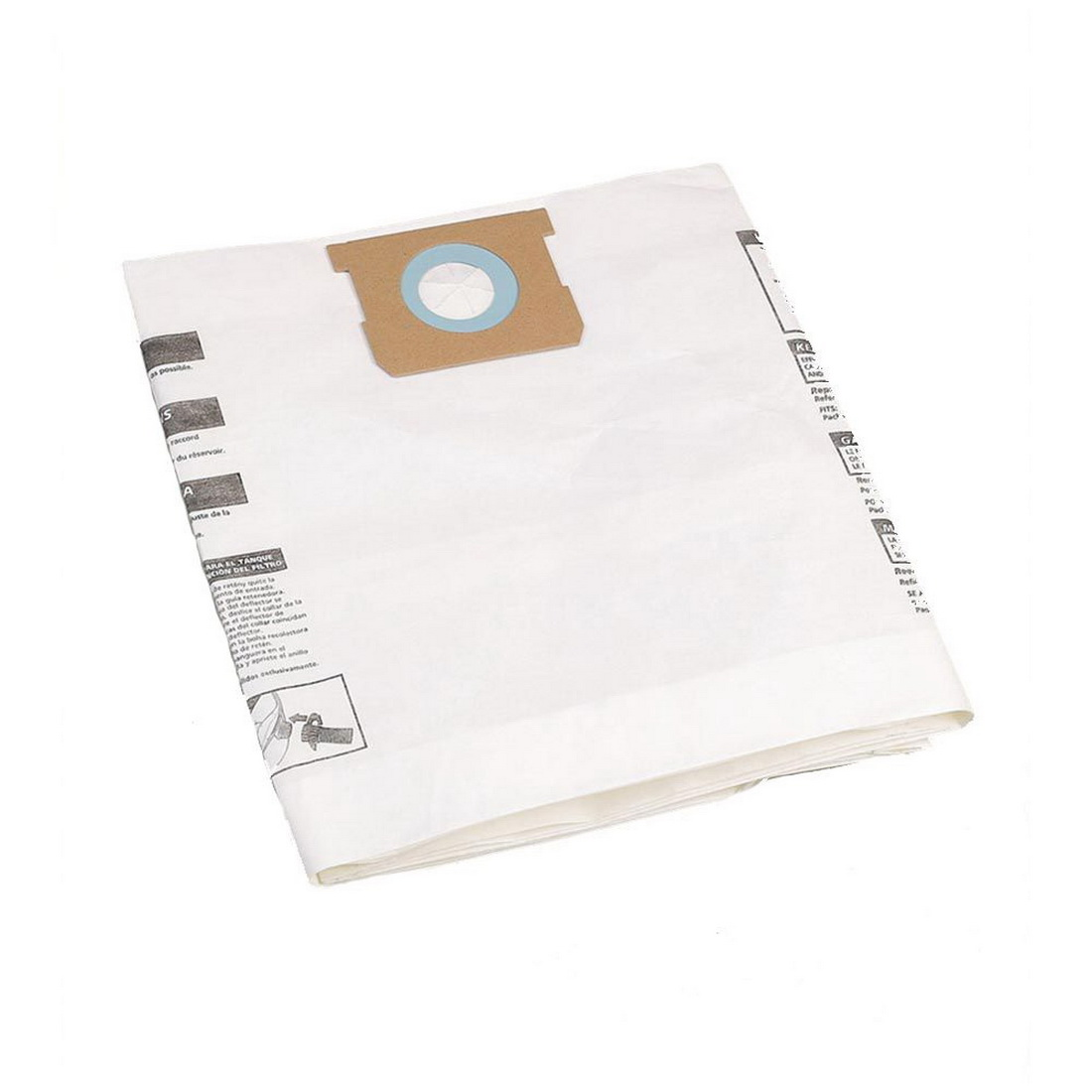 Standard Paper Collection Bag For 40-50L Vacuum 5 pack