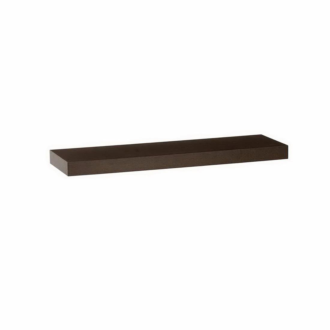 600x250x38mm Floating Shelf Dark Oak