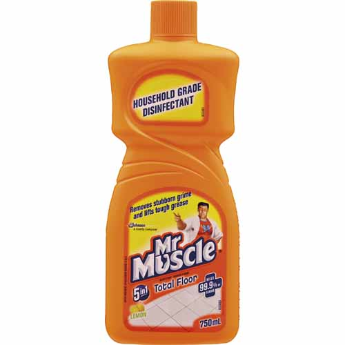Mr. Muscle Floor Cleaner 750 mL Liquid Fresh Lemon 605850
