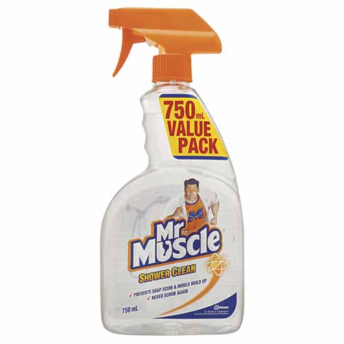 Mr. Muscle Shower Clean Trigger 750 mL 618004