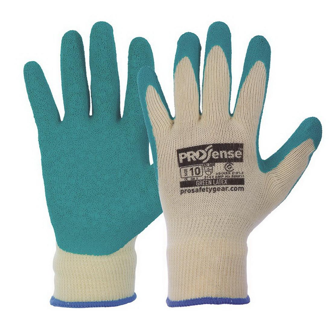 Prosense Diamond Grip Synthetic Dipped Gloves Size 10