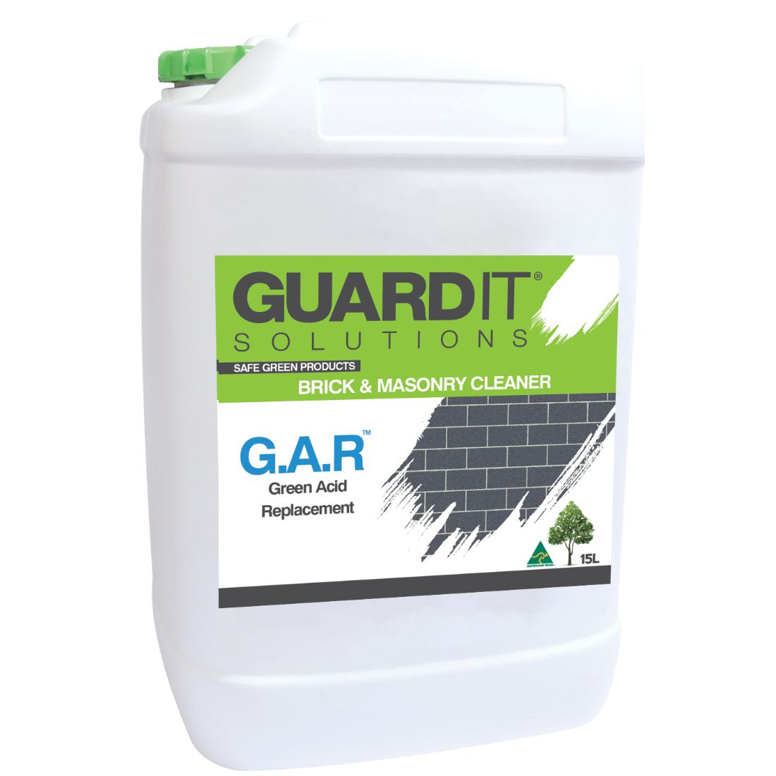 15L Green Acid Replacement Concrete Remover